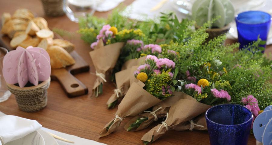 Foto: Kiwo Studio; Decoración floral Chitina