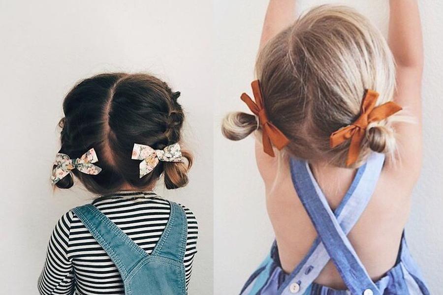 Coco-y-Manuela-Moños para niñas