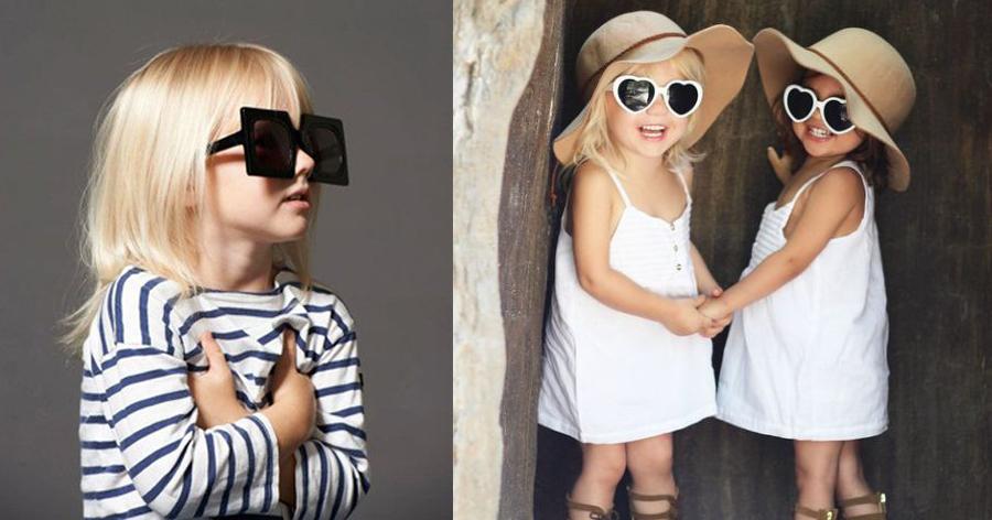 Niñas con Gafas de Sol Kids Fashion_coco-y-manuela copia