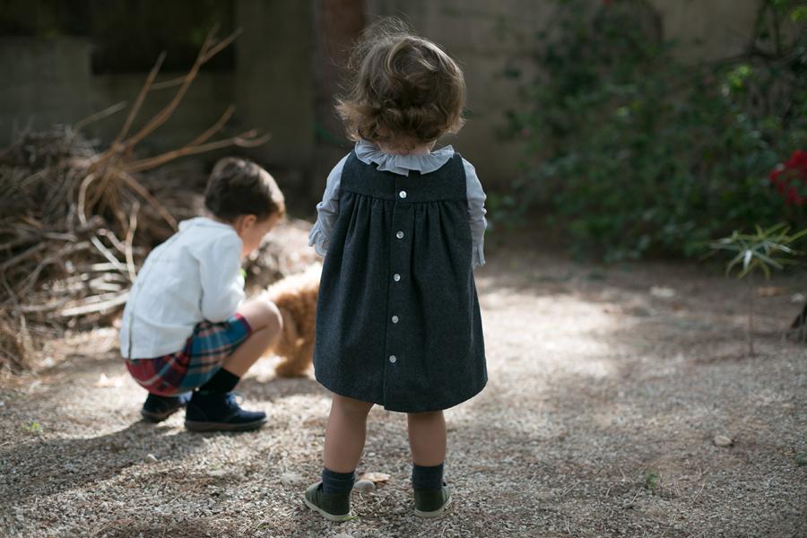 Manuela, Pichi Sainte Claire, camisa Sainte claire, zapatos Baby Pods Friki