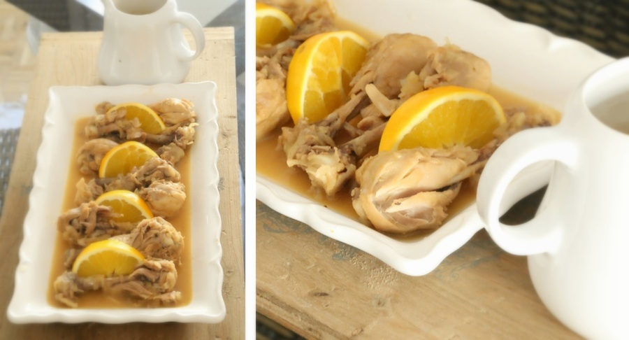 Pollo a la naranja Receta Coco y Manuela