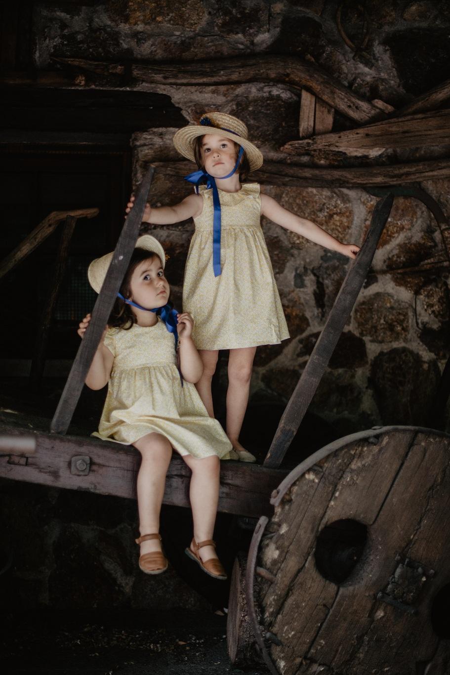 El Dia de la COmunion Coco y Manuela Lia Baby
