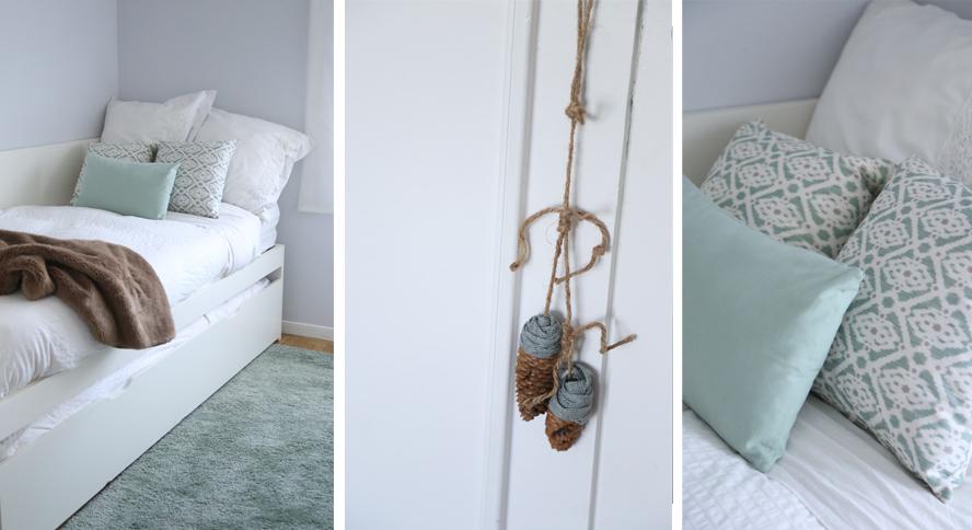 Deco ideas las habitaciones de mis ni as coco y manuela for Barrera cama carrefour